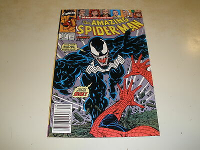 Marvel Comics AMAZING SPIDER-MAN #332 CLASSIC VENOM COVER NEWSSTAND
