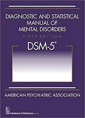 Diagnostic and Statistical Manual of Mental Disorders, 5th Ed: DSM-5 Paperback**