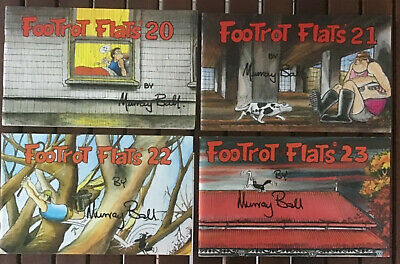 Footrot Flats - Numbers 20, 21, 22, 23 - Lot Of 4 Books