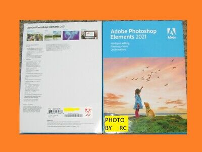 Adobe Photoshop Elements 2020 CD in the box windows and mac