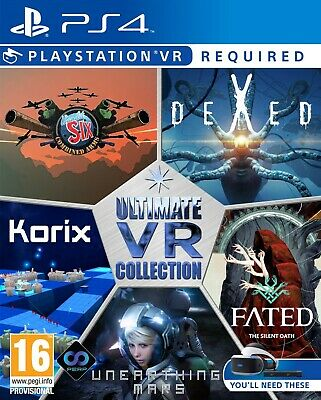 New Sealed Ultimate VR Collection Sony PS4 PSVR 5 games in 1
