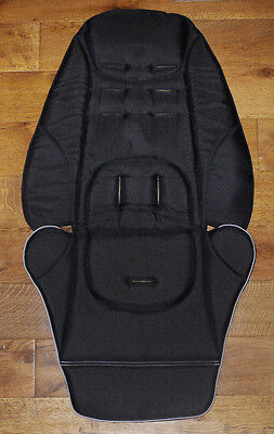 BN Mamas and Papas BLACK Sola Sola2 Urbo Zoom Pixie Replacement Seat Cover//Liner