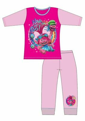 Girls Official Trolls (Hair We Go)Long Pyjamas 9-10 Years