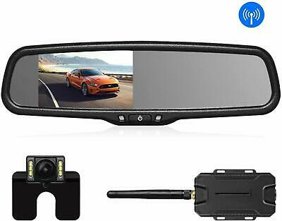 AUTO VOX Wireless Reverse Camera Kit Car Backup Camera with Rear View Mirror