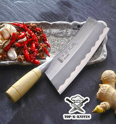 Meat Cleaver Chef Butcher Knife Stainless Steel Chopper Full Tang Kitchen 305mm