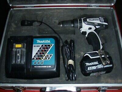 Makita, DHP456, 2 speed Hammer Drill set, 18v. Dc18RC T Charger, 3.0AH battery,