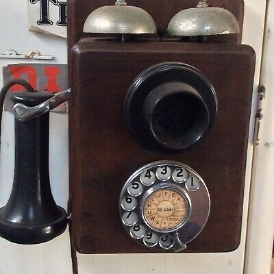 antique wall phone Small PMG