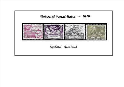 Universal Postal Union    Seychelles       Good Used