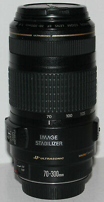 Canon EF 70-300mm f/4-5.6 IS USM lens (Japan) - in excellent condition