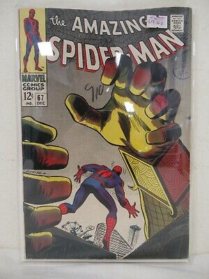 Marvel Comics The Amazing Spider-Man Comic Issue #67 1968