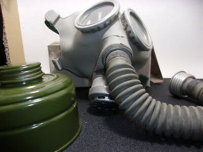 Extra Large Russian Civilian Child Cold War Gas Mask/Fits Adult/Less Filter