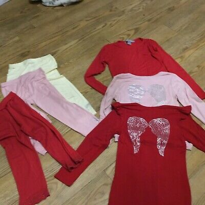 Angel's Face Long sleeved, top t-shirts & leggings age 6 to 7 yrs