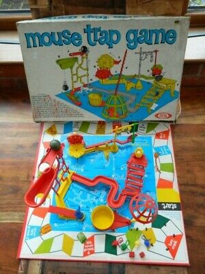 Vintage Mouse Trap Board Game 1963 Ideal Boxed and Complete Retro