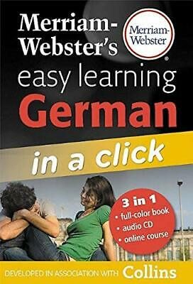 Merriam-Webster's Easy Learning German in a Click [With CD (Audio)]