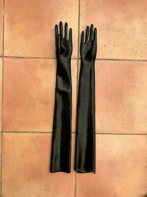 Platex Latex Rubber Shoulder Length Gloves 0.6mm, Size Small NEW RRP £80