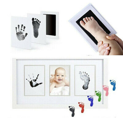 Baby Hand/&Foot Print Souvenir Keepsake Ink Pad Seal Stamper Mark Plastic