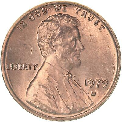 1979 D Lincoln Memorial Cent BU Penny US Coin