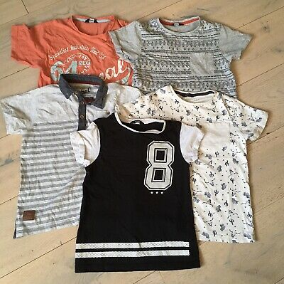Boys Bundle Tops Tshirts 7-8 Years
