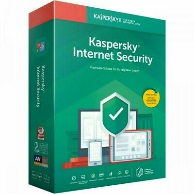 Kaspersky Internet Security 2020 | 3 Geräte | 2 Jahre | Vollversion