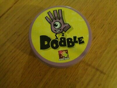 Asmodee Dobble Card Game in a tin - USED VGC