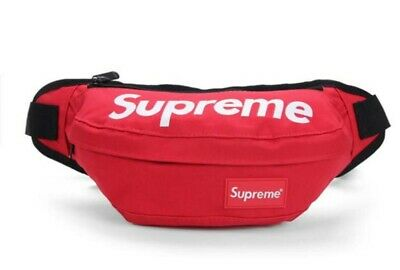 Supreme Fanny Pack/Waist Pouch RED 3 Pocket