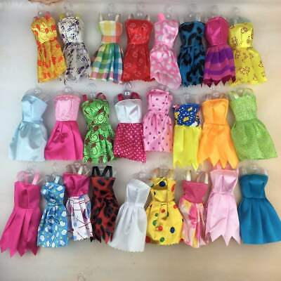 10x Doll Dresses Clothes set UK Seller FREE UK P&P Made for Barbie