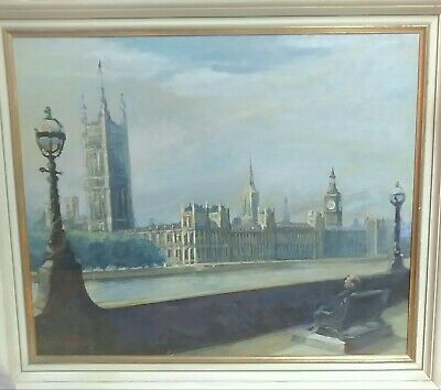 "Painting Titled ""A Seat At Westminster"""