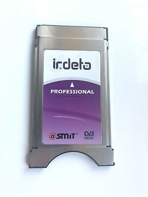 🔹SMIT🔹Official Irdeto Professional 8 Channel Satellite TV CAM Module Service🔹
