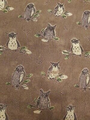 Peony Scarves Owl Design Olive Colour Brand New with Tags RRP £12.99