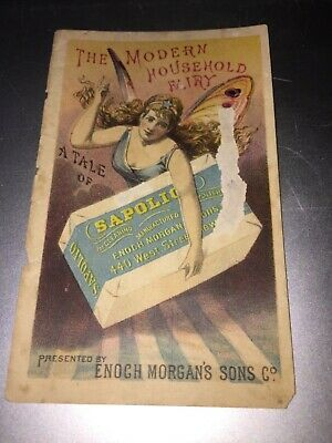 Vintage Enoch Morgans Sons,Sapolio Cleaning & Polishing Soap Trade Card
