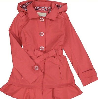 Michael Kors Girls Trench Coat Aged UK Aged 10 Years BNWT RRP £115