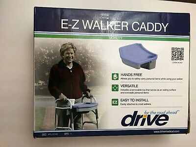 E-Z Walker Caddy Tray Carrier Carry All Tote Storage Accessory Cup Holder