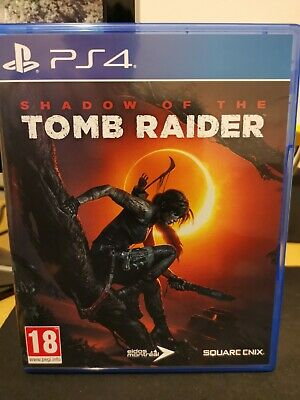 Shadow of the Tomb Raider (PS4, PlayStation 4, 2018)