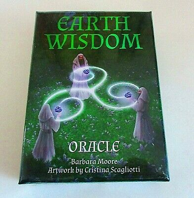 Earth Wisdom Oracle Cards NEW Sealed Barbara Moore Cards & Guidebook