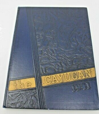 1941 Ithaca College New York Cayugan Vintage Annual Yearbook