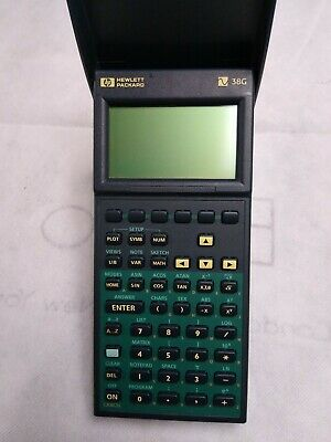 1995 HP Hewlett Packard 38G Graphic Scientific Calculator with Cover Vintage