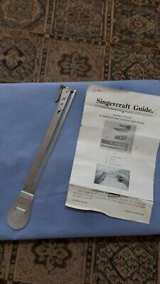 Singercraft Guide Vintage Collectable