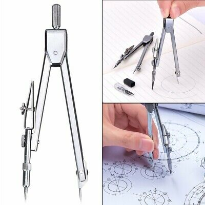 US Drafting Tools Math Drawing Compass Set School Supplies Stationery Working