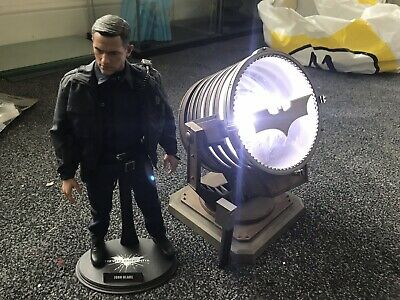 1/6 Hot Toys The Dark Knight Rises MMS275 John Blake With Bat Signal (read Des)