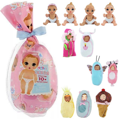1PCS BABY BORN Surprise Baby Dolls Diaper Baby Toy Random Dolls Gift
