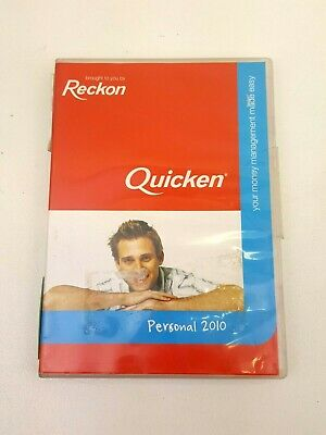 Reckon Quicken Personal 2010 Software Accounting Single User Full Version
