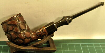 """Superb Condition & Looks Straight """"Polo Danish"""" Carved Billiard Shaped Pipe."""