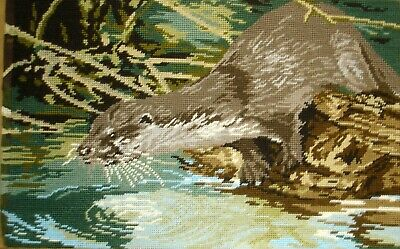 Penelope Complete Unframed Cross Stitch Tapestry Picture The Otter
