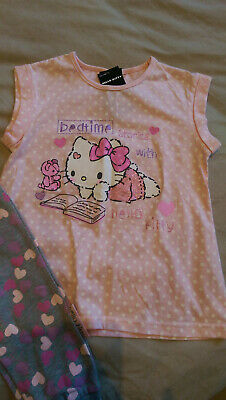 George Hello Kitty Girls Pj's 5-6 Years, Bnwt!