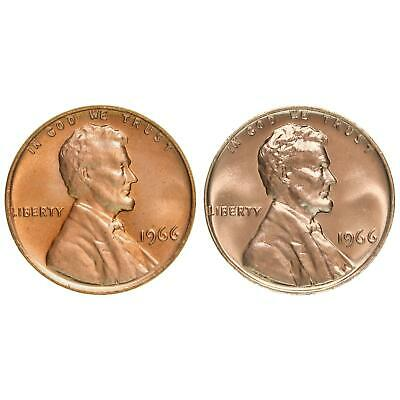 1966 Lincoln Memorial Cent SMS Single Coin