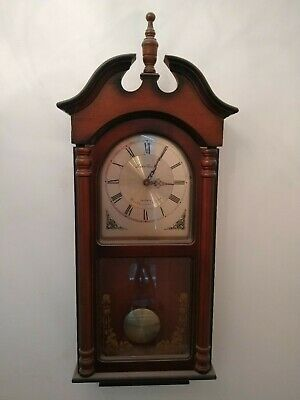 Westminster Chime Quartz Wooden Wall Clock