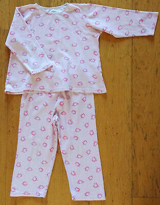 M&S pink cat pyjamas, age 4-5 years, *good condition*
