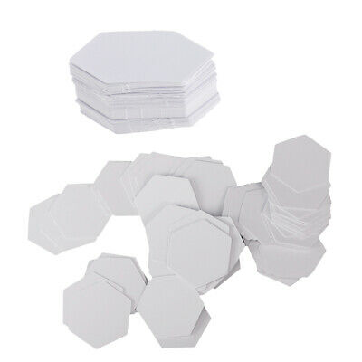 200Pcs English Paper Piece Templates ~ Hexagons 26mm 42mm