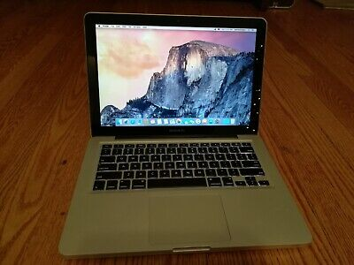 "Apple MacBook Pro 13"" A1278 2.26GHz Core 2 Duo 4GB RAM 60GB SSD 10.10 Mid 2009"