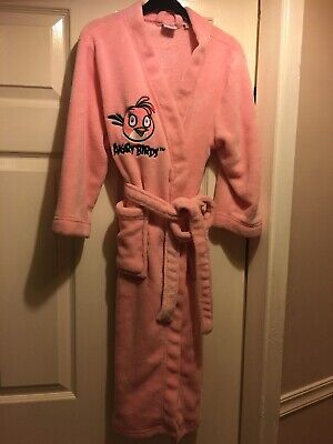 Angry Birds Girls Dressing Gown Age 9-10 Years